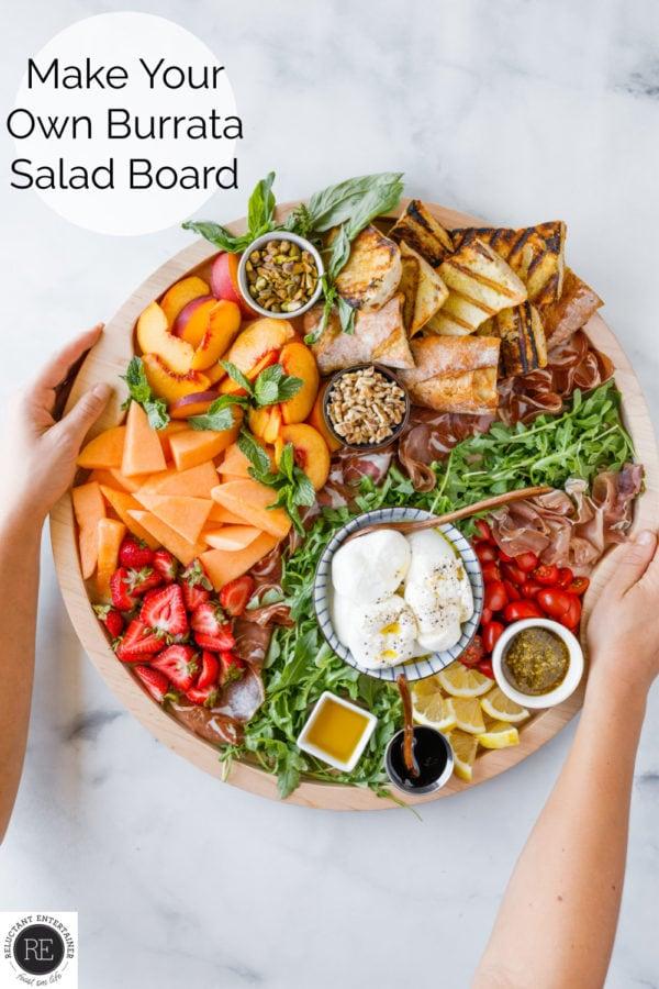 Make Your Own Burrata Board