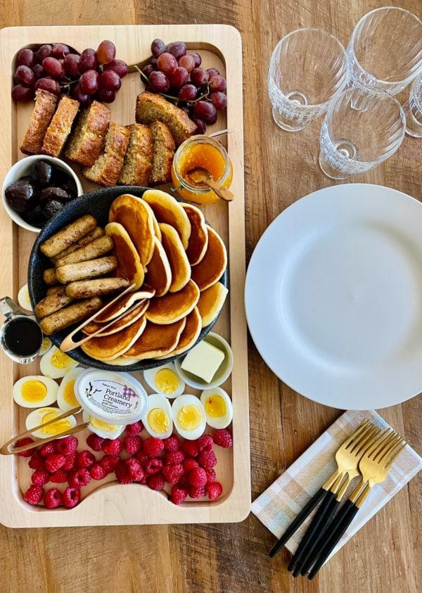 rectangle pancake board