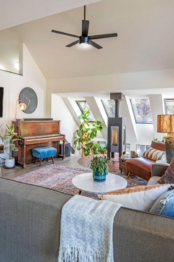living room loloi rug