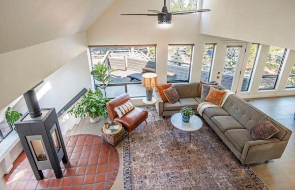 cozy living room Loloi rug