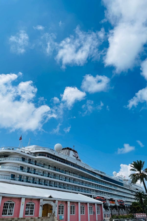 Orion Viking ship in Bermuda