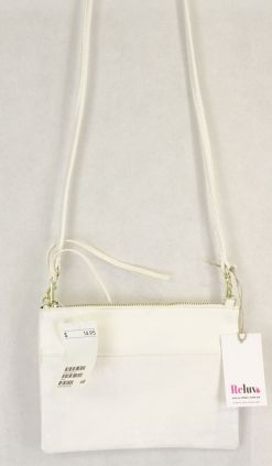 H & M  White Small Crossbody Bag