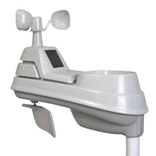 Sensor meteorológico AcuRite 06004RM 5 en 1 con pluviómetro