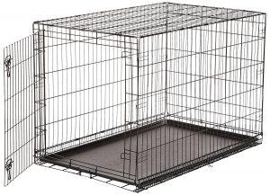Estuche plegable para perros AmazonBasics Metal