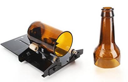 Cortador de botellas de vidrio, máquina de corte de botellas Genround Herramienta de corte de cortador de vidrio de botellas de vino