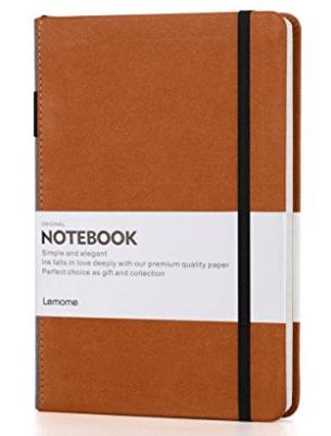 Cuaderno grueso clásico con bucle para bolígrafo