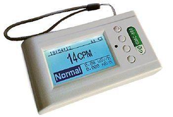 7. Dosímetro de control del detector de radiación nuclear GQ-GMC-500Plus GQ