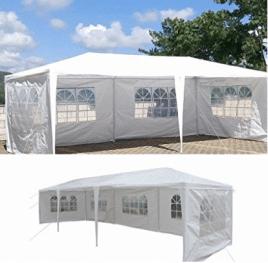 """Fiesta de boda de 10 """"x30"""" Tienda de campaña al aire libre Terraza Patio Toldo Gazebo Pabellón Eventos"""