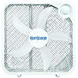 Ventilador de huracán - 20 pulgadas | Serie Clásica | Ventilador de piso con 3 configuraciones de velocidad energéticamente eficientes, diseño compacto, ligero, listado en ETL, blanco
