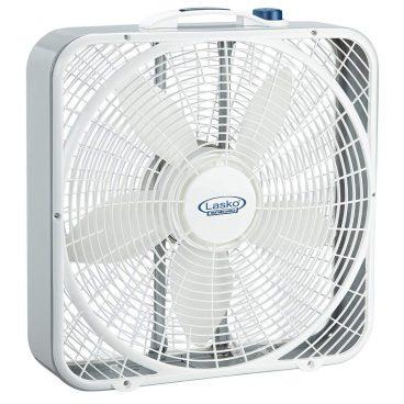 """Lasko 3720 - Ventilador de caja resistente al clima de 20 """""""