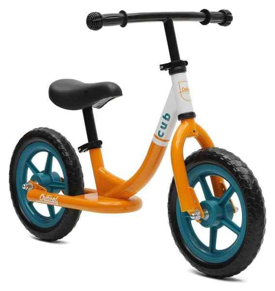 Bicicleta de equilibrio sin pedal Cub Cycles crítica para niños