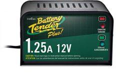 Battery Tender Plus 021-0128, el cargador de batería 1.25 A es un cargador inteligente