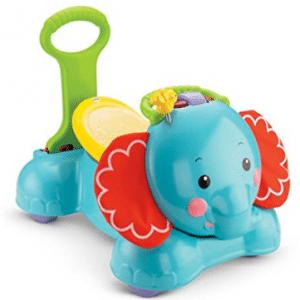 Elefante de rebote, zancada y paseo 3 en 1 Fisher-Price