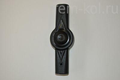 Регулятор ручки Adamex (Шарнир) Круг-Круг, чёрный