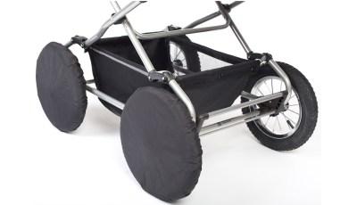 Чехлы на колеса Reindeer 30см (Черный)