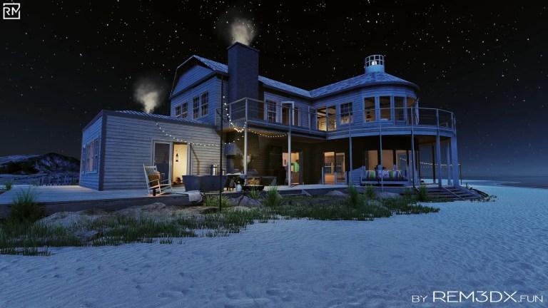"""Three Storms Bay Vintage Beach House"" Already available"