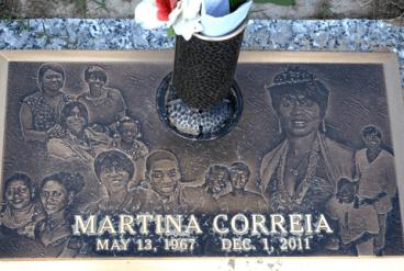 Martina Correia grave