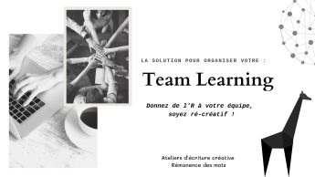 TEAM BUILDING & TEAM LEARNING / learn
