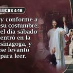 EL MISMO SÁBADO QUE JESÚS GUARDÓ