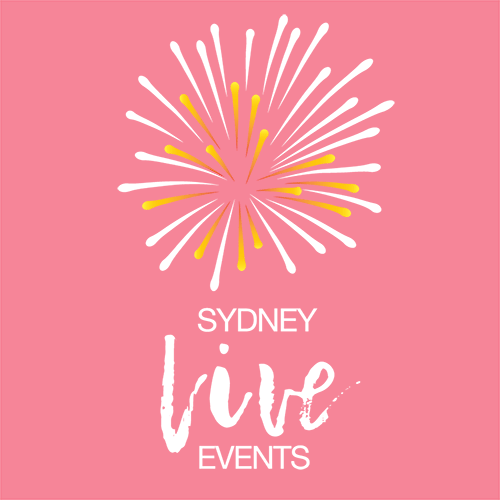 Remap Online does all of the Social Media Marketing for Sydney Live Events on Facebook and Instagram (white and red logo)
