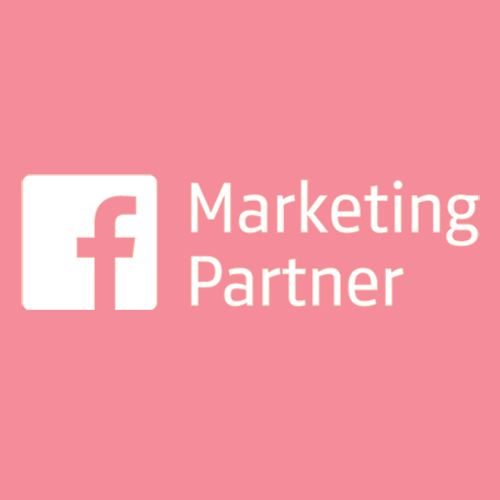 Remap Online is proud to be an Official Facebook Marketing Partner (White & Red Badge)