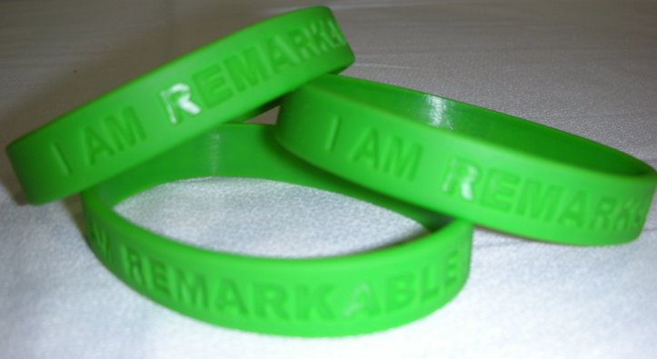 I am Remarkable! Wristbands