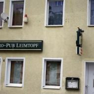 Wenige Meter entfernt pulsiert das Pub-Leben im Leichento äh Leimtopf-
