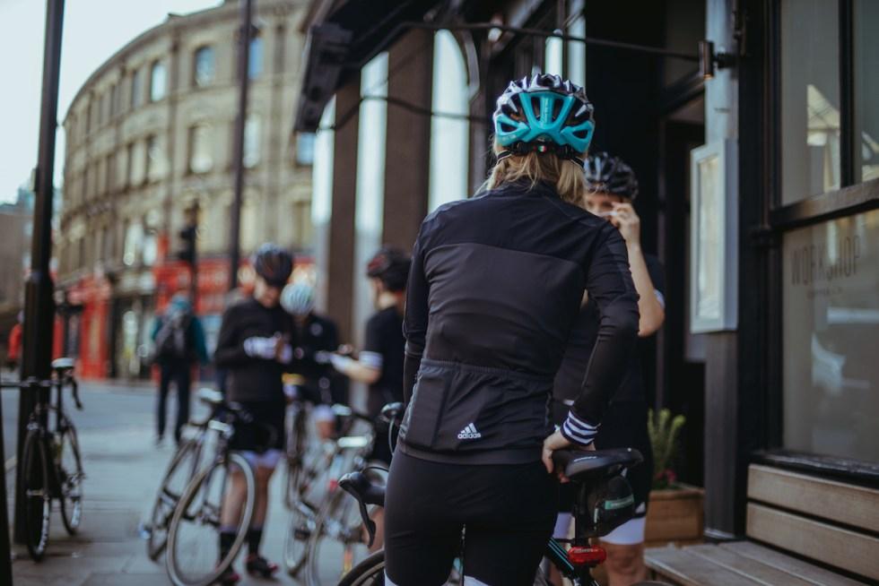 cyclists friendly coffee shop in London