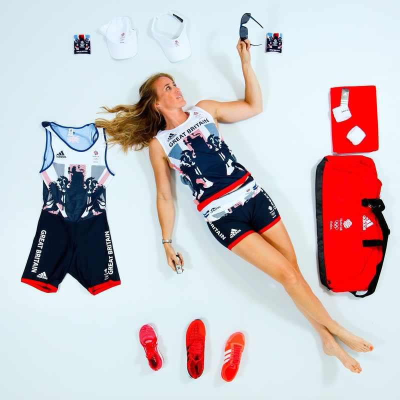 Helen Glover adidas sportswear Rio 2016