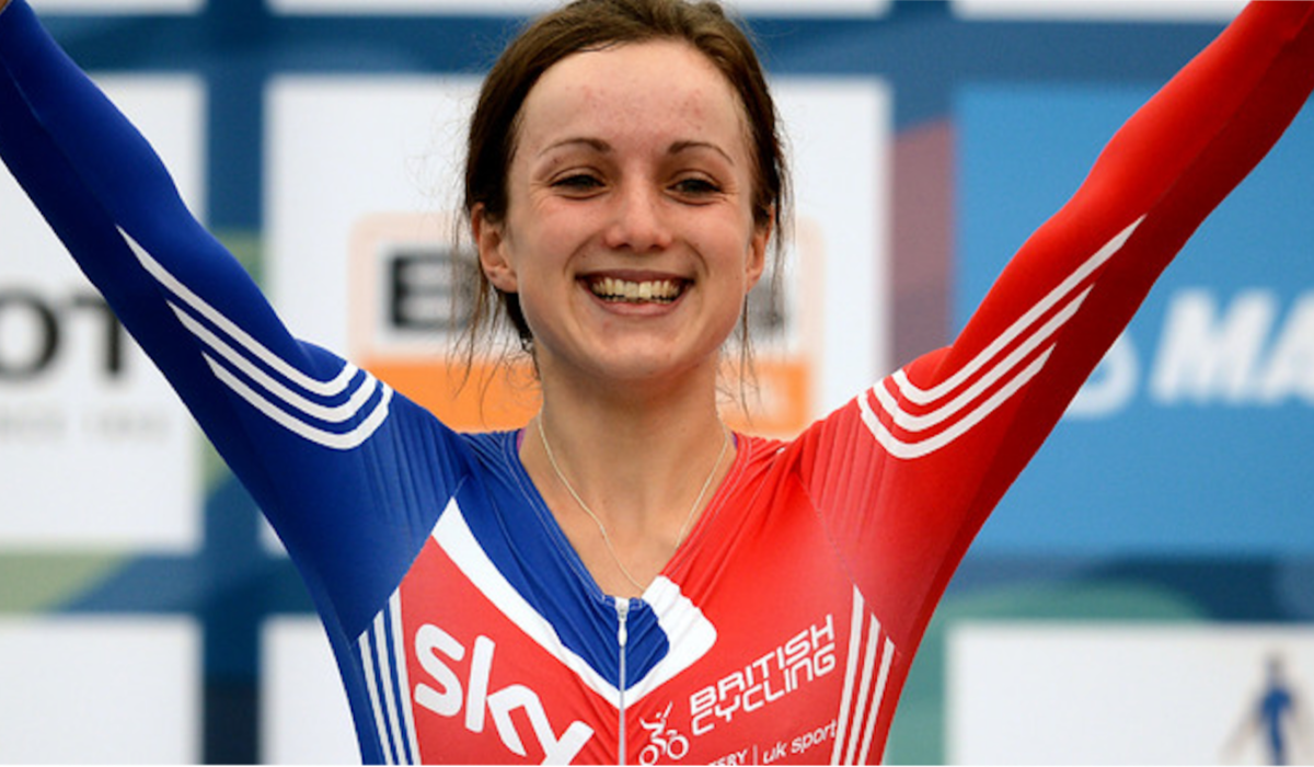 Elinor Barker Cyclist - World Champ