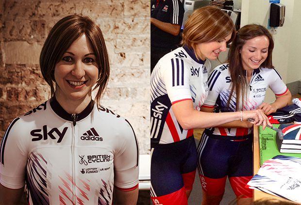 Joanna Rowsell Shand adidas cycling
