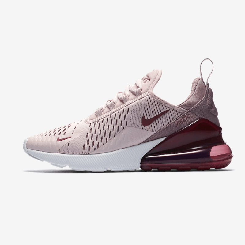 nike air max 270 flyknit barely rose