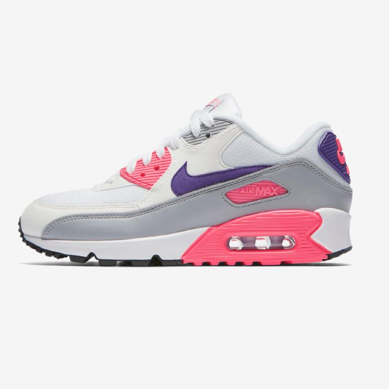 Nike Air Max 90 White Purple Grey