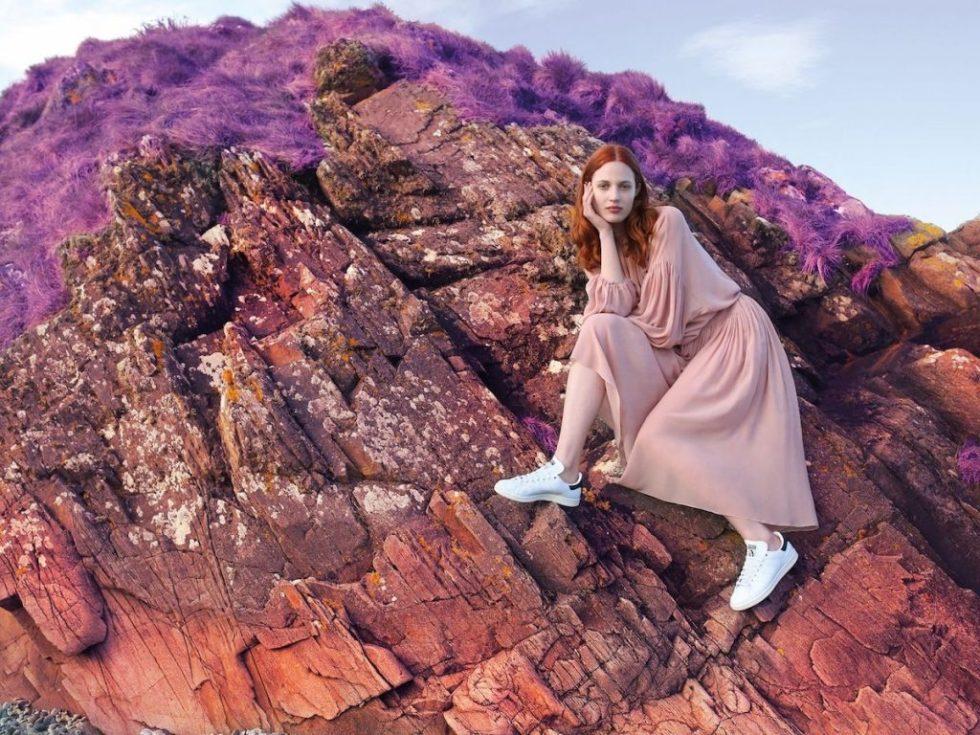 Stella McCartney Stan Smith Sneakers - pink landscape