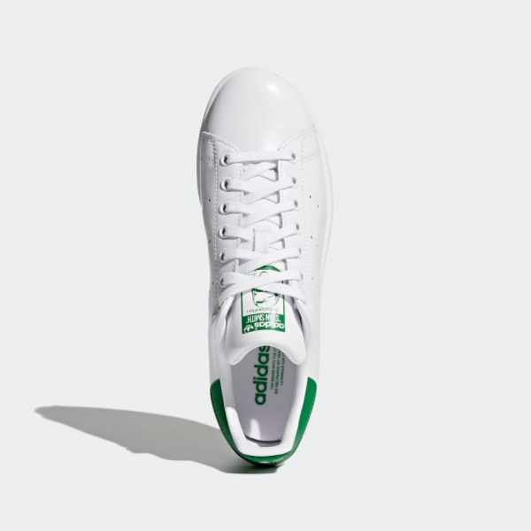 adidas Stan Smith Shoes Green - above