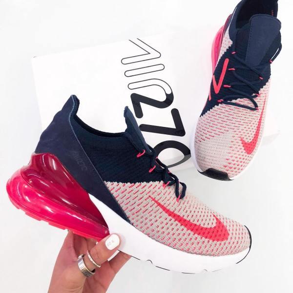Nike Air Max 270 Flyknit Women's Shoe - AH6803-200