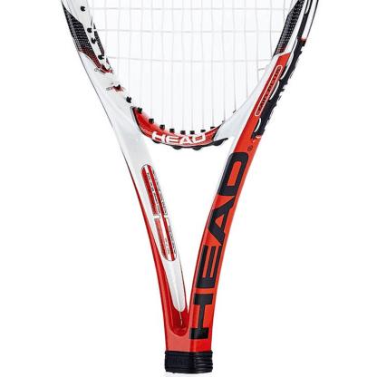 Head MicroGel Radical MP Tennis Racket - strings detail