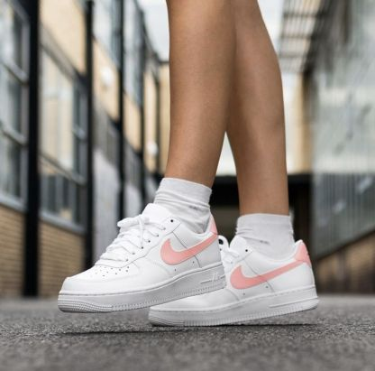 Nike Air Force 1 '07 Patent White Oracle Pink 7