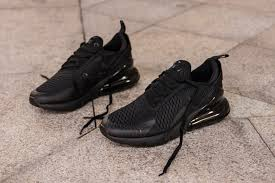 851a1467 Nike Air Max 270 Triple Black - Exclusive Shoes - SportStylist