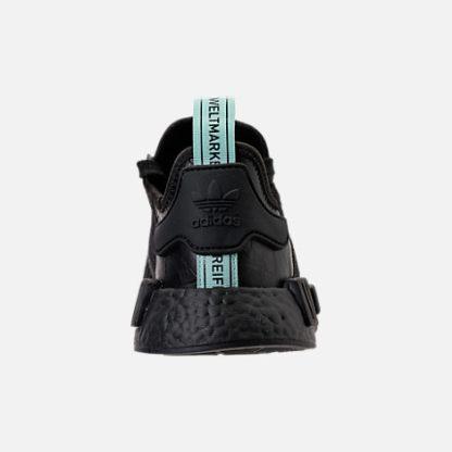 adidas NMD R1 Black Mint - AQ1102 4