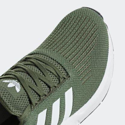 adidas Originals Swift Run - Green - AQ0866 6