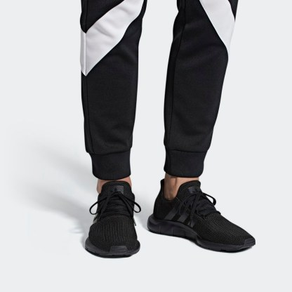 adidas Originals Swift Run Shoes – Black - sneakers