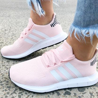 adidas Swift Run Shoes - Icey Pink 7