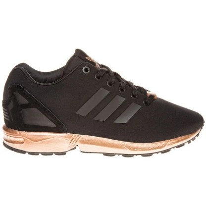 adidas ZX Flux Trainers – Black and Copper (Gold) 5