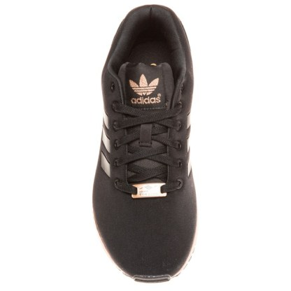 adidas ZX Flux Trainers – Black and Copper (Gold) 4