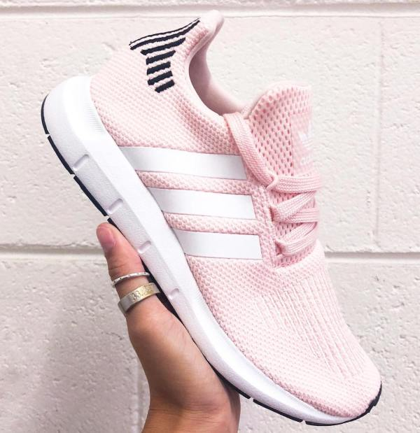 adidas Swift Run Shoes - Icey Pink