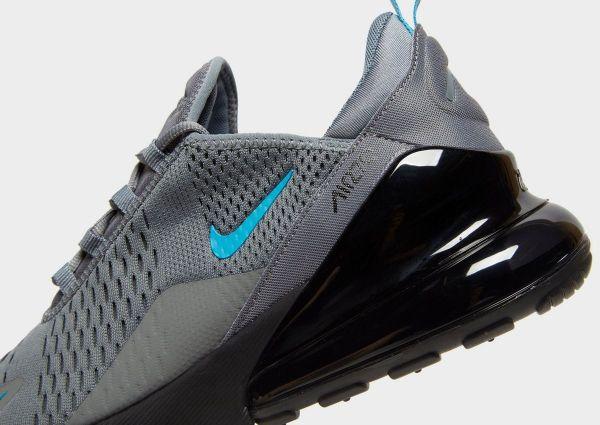 Nike Air Max 270 - Grey Black Blue - detail