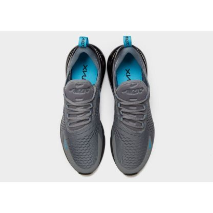Nike Air Max 270 - Grey Black Blue - shoes above