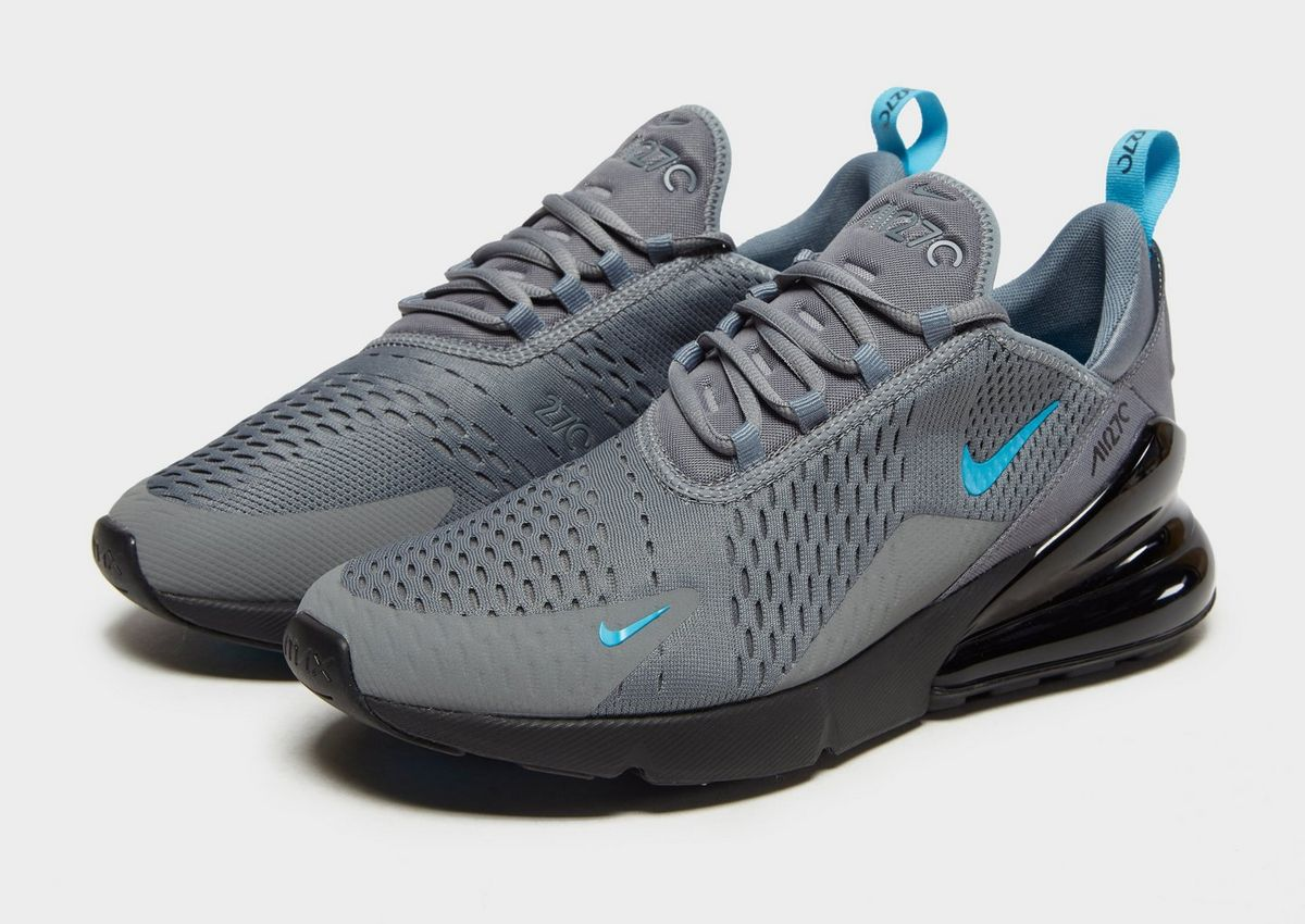 nike blue and black shoes