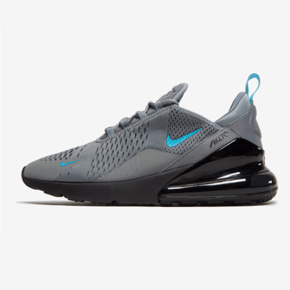 Nike Air Max 270 - Grey Black Blue - shoes